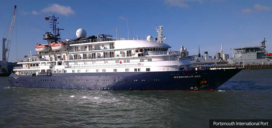 Portsmouth hosts two ships from Noble Caledonia in one day