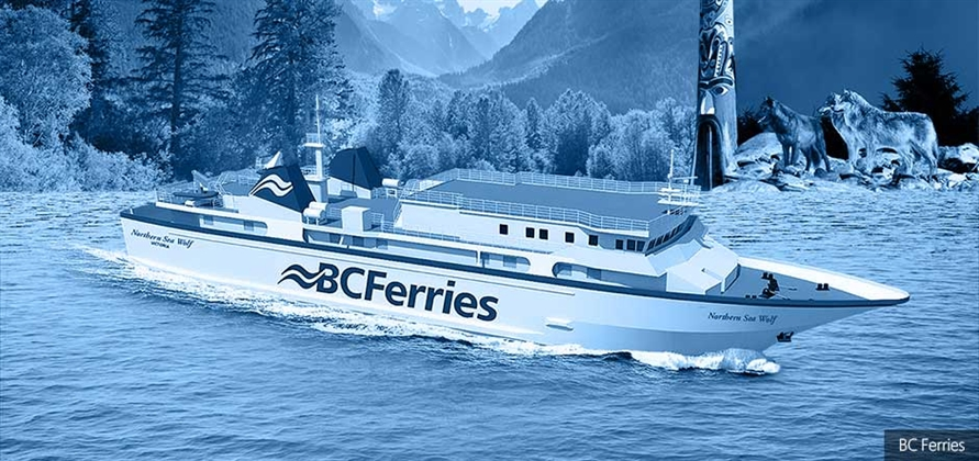 BC Ferries to name newly acquired passenger ferry Northern Sea Wolf