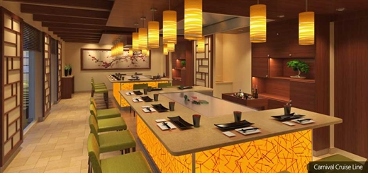 Carnival Horizon to feature new Japanese dining venue