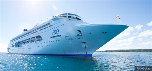 Pacific Jewel arrives in New Zealand for first spring cruise season