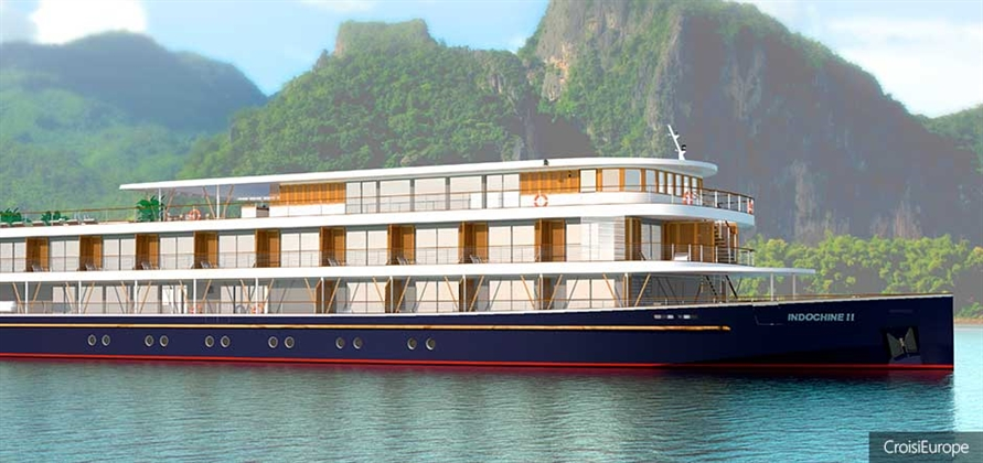 CroisiEurope launches new ship for Mekong river cruises