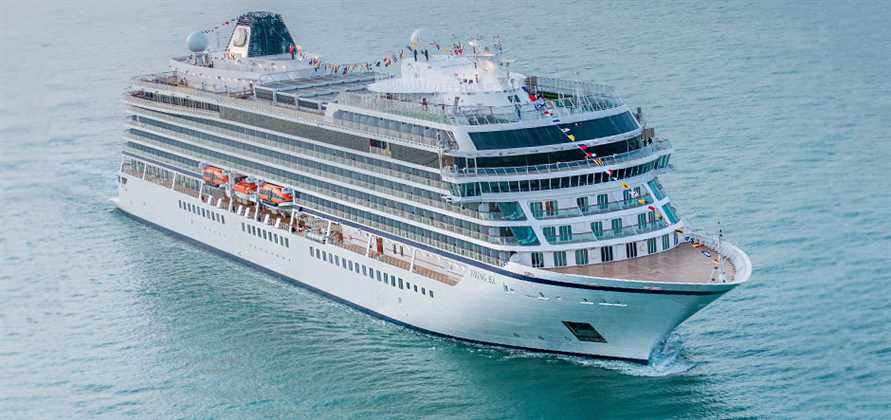 Viking Ocean Cruises takes delivery of Viking Sun
