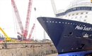TUI Cruises floats newest ship out of Meyer Turku's dry dock