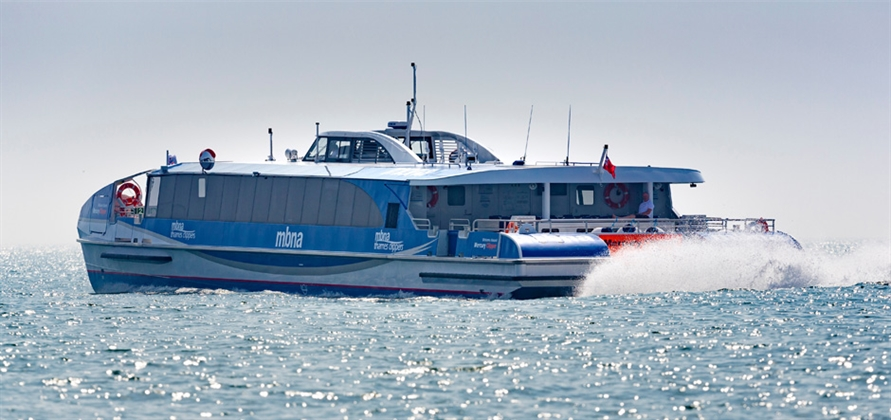 An iconic expansion for MBNA Thames Clippers