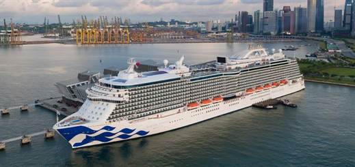 When East meets West at Princess Cruises