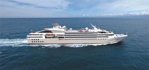 Ponant renews communications contract with Marlink