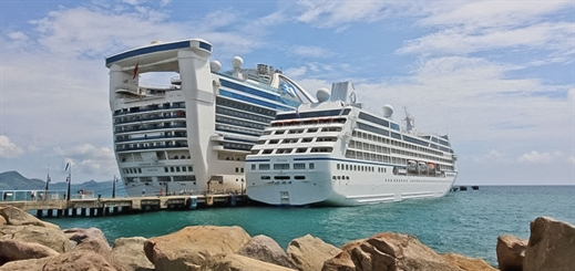 St. Kitts hosts first-ever call from Oceania Cruises' Sirena