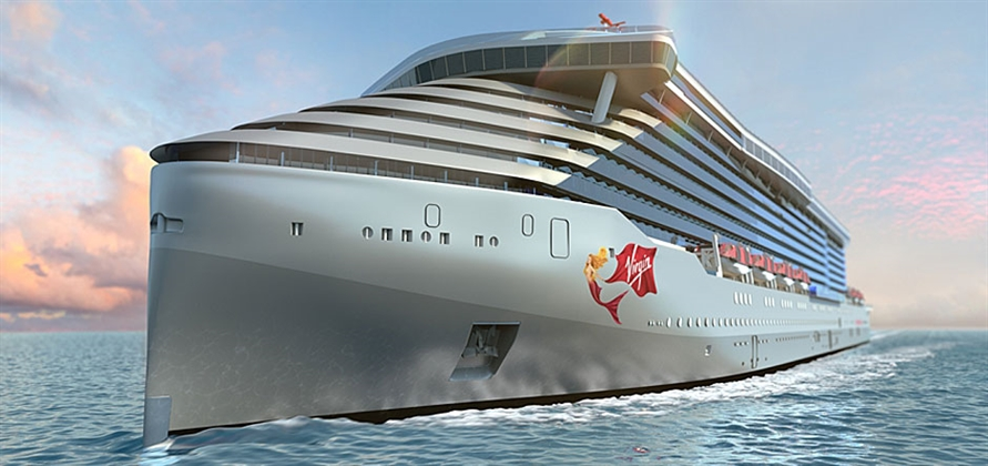 Fincantieri lays keel for first-ever Virgin Voyages ship