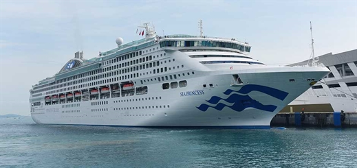 Sea Princess rejoins fleet with improved facilities after dry dock