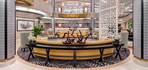 Exploring inner character with interior design at P&O Australia