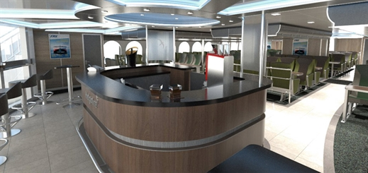 A look at how Spear Green Design works on ship interiors