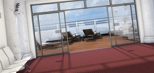 Forbo Flooring is helping cruise and ferry lines make a grand entrance