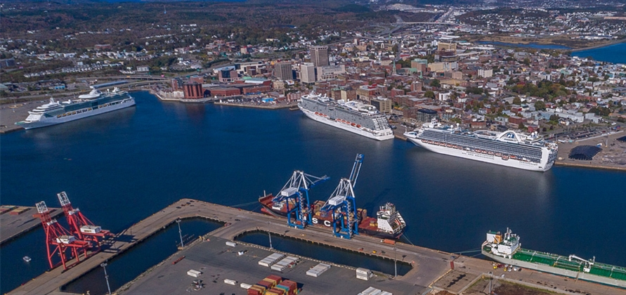 Cruise numbers rise at Port Saint John