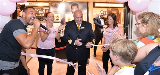 Carnival to upgrade retail venues on all cruise ships