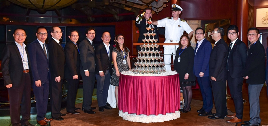 Princess Cruises celebrates five years of operations in Southeast Asia