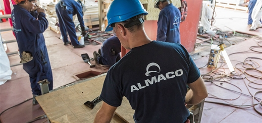 Almaco completes cabin work on Carnival Elation