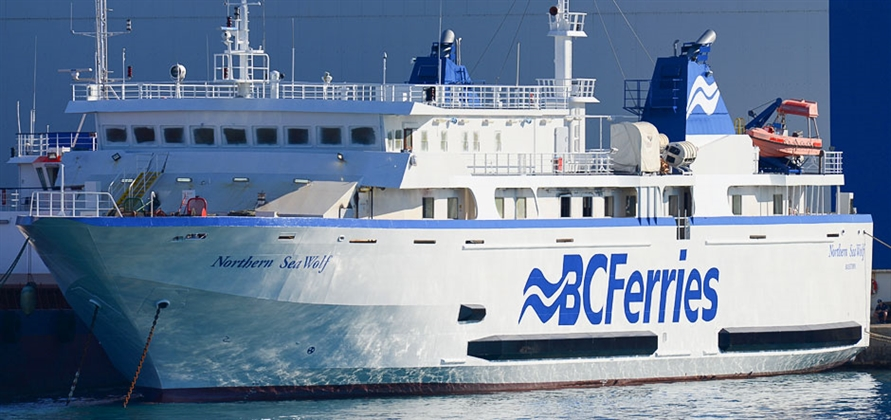 BC Ferries to upgrade Northern Sea Wolf