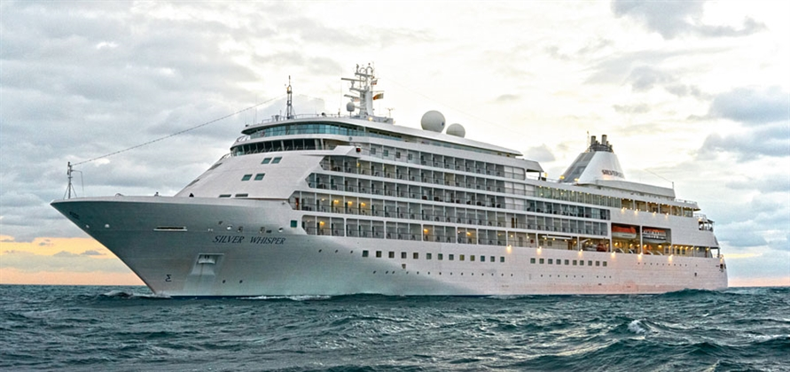 Silversea's Silver Whisper begins 121-day voyage round the world