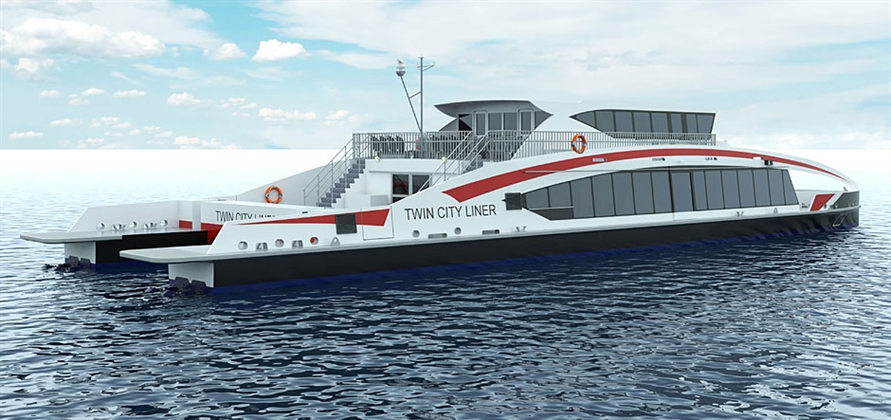 Wight Shipyard Co to build river catamaran for the Danube