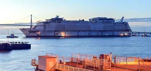 Success for Symphony of the Seas at first sea trials
