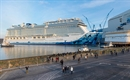 Norwegian Bliss floats out at Meyer Werft shipyard