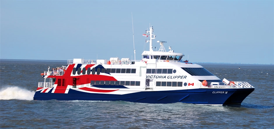 New high-speed Clipper ferry to begin service on 9 March 2018