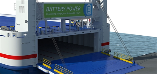 Stena Line launches battery power initiative