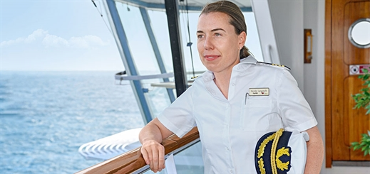 AIDA Cruises appoints Germany's first female cruise ship captain