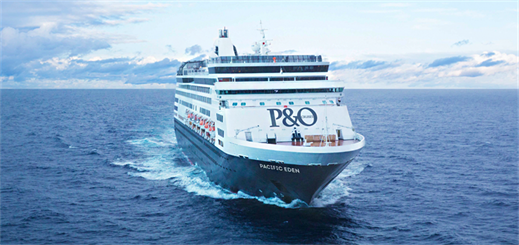 Pacific Eden to depart P&O Cruises Australia fleet in April 2019