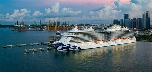 Majestic Princess to homeport in Taiwan this spring