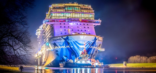 Norwegian Bliss to start sea trials in North Sea
