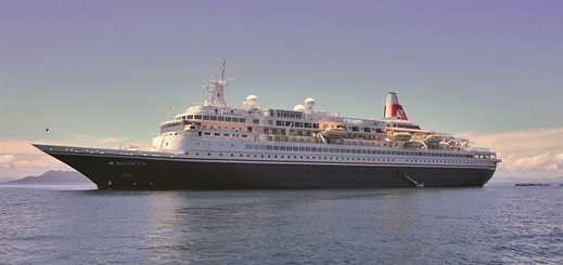 Fred. Olsen Cruise Lines' Boudicca to undergo extensive refit