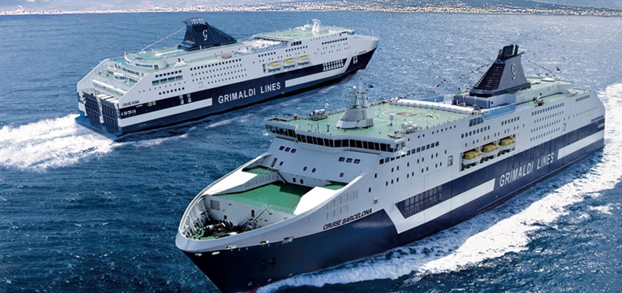 Fincantieri to lengthen and refurbish two Grimaldi Group ferries
