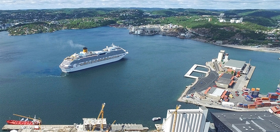 Port of Kristiansand to install shore power facility for cruise ships