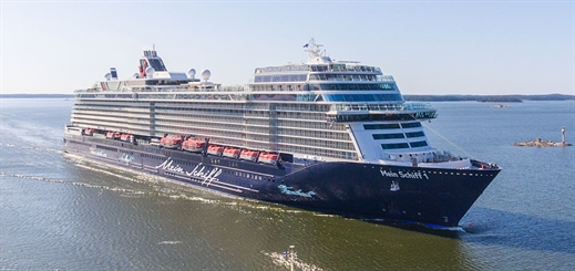 TUI Cruises takes delivery of New Mein Schiff 1