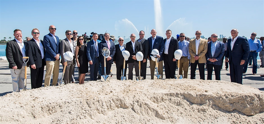 Norwegian breaks ground on new PortMiami cruise terminal
