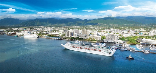 Carnival Australia helping Cairns to become cruise hub