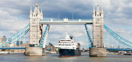 Port of Tilbury and MBNA Thames Clippers win London cruise contract
