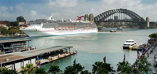 Carnival Spirit departs Sydney for dry dock in Singapore