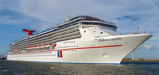 Carnival Legend to homeport in Tampa Bay from October 2019
