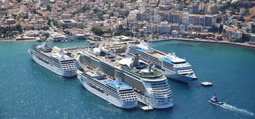 Turkey reports rise in cruise numbers in early 2018