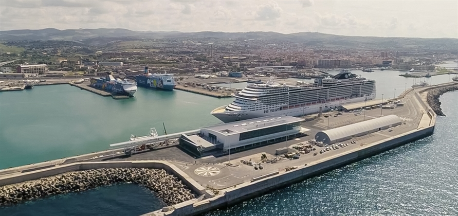 Port of Civitavecchia opens new Terminal Amerigo Vespucci