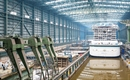AIDA Cruises floats out AIDAnova at Meyer Werft's yard in Papenburg
