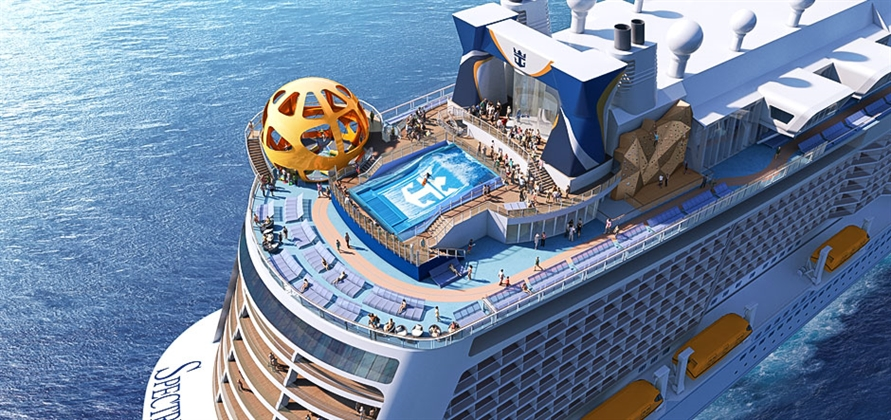 Royal Caribbean unveils features onboard Spectrum of the Seas
