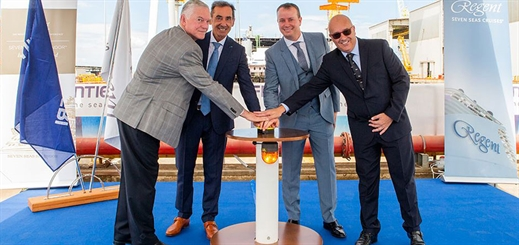 RSSC marks construction milestone for Seven Seas Splendor