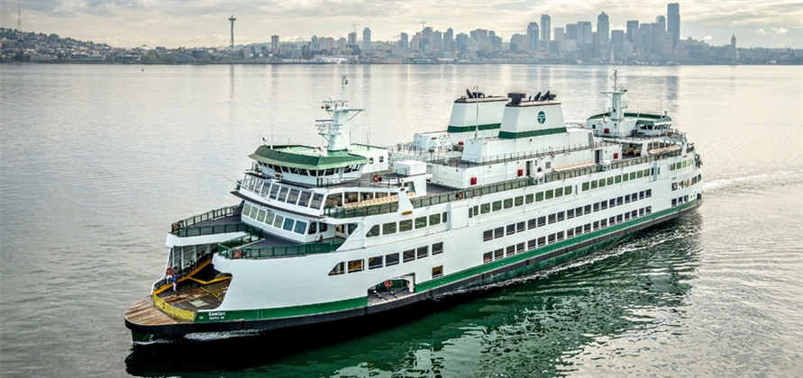 WSF becomes first US ferry line to join Green Marine