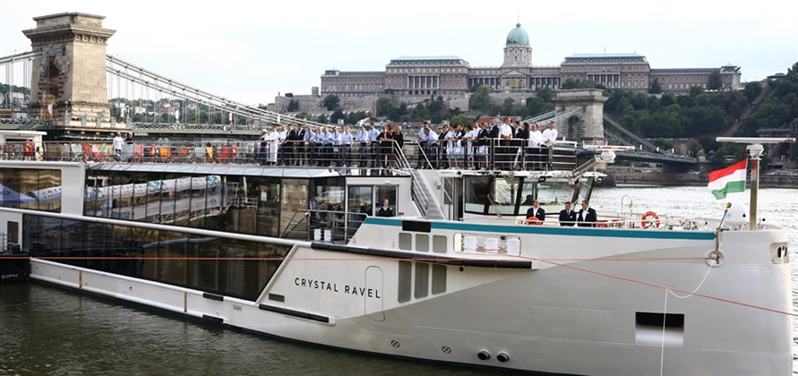 Crystal River Cruises christens Crystal Ravel in Hungary