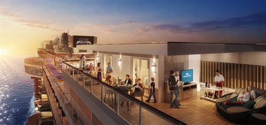 Princess Cruises unveils venues onboard new Sky Princess
