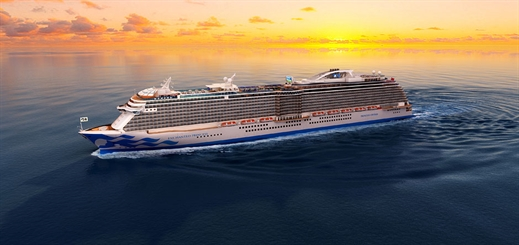 Princess to name fifth Royal-Class ship Enchanted Princess