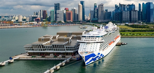 Majestic Princess en route to new homeport in Australia